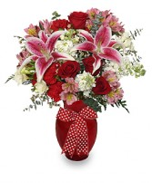 THAT'S AMORE! Arrangement in Brownsburg, IN | BROWNSBURG FLOWER SHOP