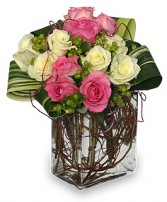 I'M YOURS FOREVER Arrangement in Prospect, CT | MARGOT'S FLOWERS & GIFTS