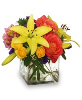 SWEET SUCCESS Vase of Flowers in Olathe, KS | THE FLOWER PETALER