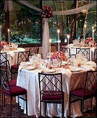 GUEST TABLE DISPLAY Wedding Reception Flowers