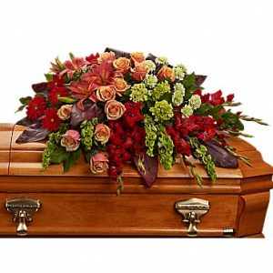 A Fond Farewell Casket Spray Casket Spray