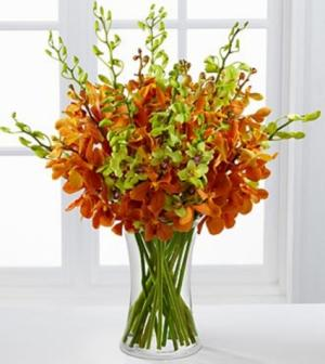 Day Break Luxury Orchid Bouquet Flower Arrangement in Burbank, CA | LA BELLA FLOWER & GIFT SHOP