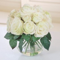 PEACEFUL WHITE ROSES