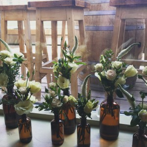 Collection of Apothecary Bottles Large in Toronto, ON | BOTANY FLORAL STUDIO
