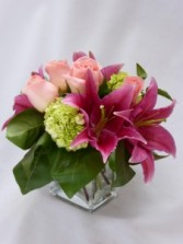 AMBIENCE-  JUST BECAUSE ROSES & FLOWERS  Just Because Flowers and Roses Arrangement