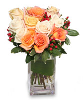 ANTIQUE ROSES Arrangement