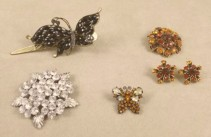 Assorted Vintage Brooches and Pins