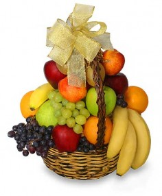 Classic Fruit Basket Gift Basket in Glenhaven, NSW | Wild Bunch Glenhaven