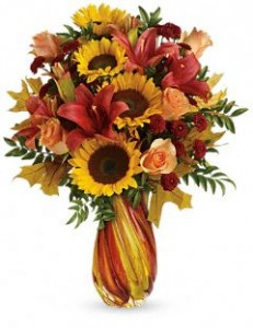 Autumn Beauty Bouquet Thanksgiving in Burbank, CA | LA BELLA FLOWER & GIFT SHOP