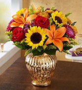 Autumn Brilliance Vase