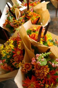 Autumn Mixed Handtied Bouquet