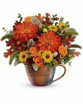 Autumn Sunrise by Teleflora  Keepsake