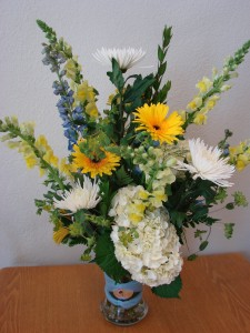 BABY BLUES  in Moore, OK | A New Beginning Florist