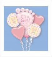 Baby Girl Balloon Bouquet ***Special Price****