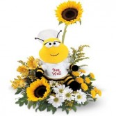 be well bouquet Flower Arrangement T01J400A in Fairbanks, AK | A BLOOMING ROSE FLORAL & GIFT