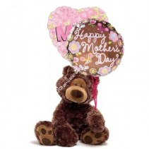 Bear and Balloons for Mom