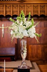 Beautiful Glassware Rentals from Enchanted Florist of Cape Coral