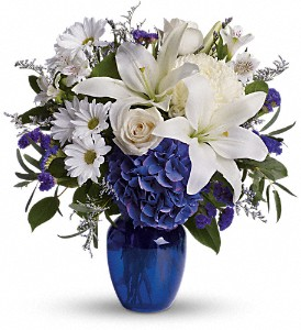 Pretty In Blue Arrangement