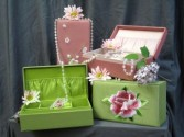 Beautiful Jewelery Box Margot's Delivery Area Only in Prospect, CT | MARGOT'S FLOWERS & GIFTS