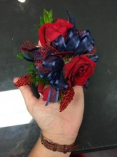 Beautiful Red Corsage
