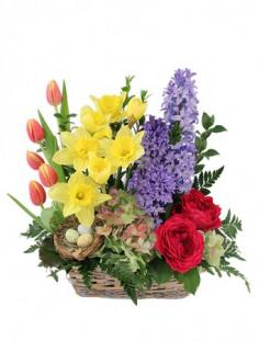 Blissful Garden Flower Basket in Kanab, UT | KANAB FLORAL & CERAMIC SHOP