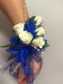 Blue Haven Prom Corsage