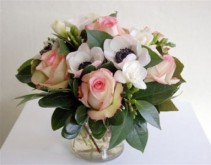 Blushing Blooms Arrangement