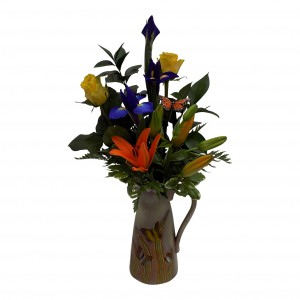 Bold and Beautiful Vase Arrangment