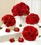 Bouquet Wedding Package Red