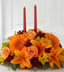 Bright Autumn Center Piece Table