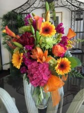 Bright Sunset Bouquet