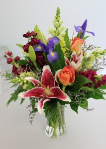 Brilliant Summer Fresh Arrangement In Saint Simons Island Ga A Courtyard Florist