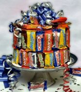 CANDY BAR CAKE Birthday Cake in Pembroke, MA | CANDY JAR AND DESIGNS IN BLOOM