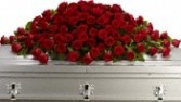 CS 16-Casket spray of red roses Also available in other colors and sizes