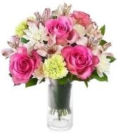 CHARM'S ROSE ARRANGEMENT in Bethesda, MD | ARIEL FLORIST & GIFT BASKETS