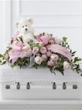CS 5-Childs casket spray Also available in other colors and sizes