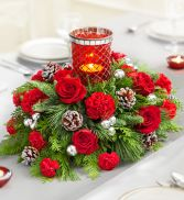 Christmas Centerpiece Flowers for The Holiday