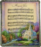 Church In The Country / Amazing Grace Funeral Throw