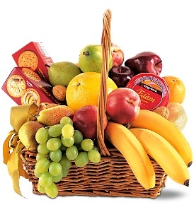 Classic Fruit Basket Gift Basket Delivery in Washington DC D.C in Washington, DC | CONVENTION FLORAL