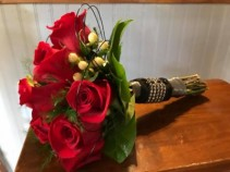 Classic Red Rose Hand Bouquets Hand Bouquets