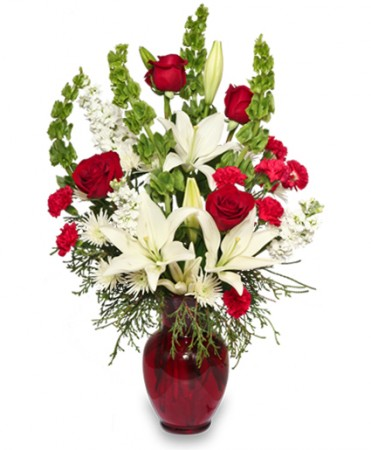 Classical Christmas Floral Arrangement