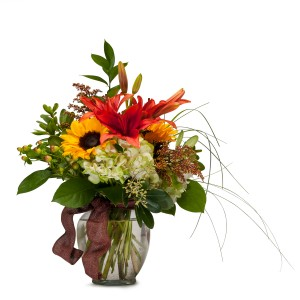 Color Me Autumn Arrangement in Knoxville, TN | The Bloomers Company