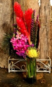 Color Pop Tall Arrangement