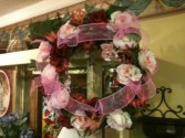 Colorful Wreath In our Antiques & Gift Shop