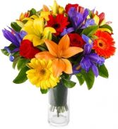 COLOURAMA BOUQUET in Clarksburg, MD | GENE'S FLORIST & GIFT BASKETS