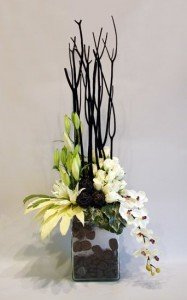 Contemporary Design  Tropical Flower Arrangement in Burbank, CA | LA BELLA FLOWER & GIFT SHOP