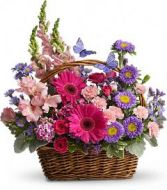 Country Basket Fresh Flowers