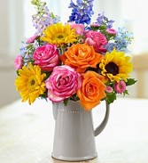 Country Garden Bouquet Flower Arrangement