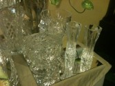 Crystal & Glassware In our Antiques & Gift Shop