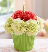 Cupcake for you Flower arrangement